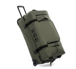 Sac de voyage avec 2 rouleaux KANE Duffel-Trolley valise trolley olive 2