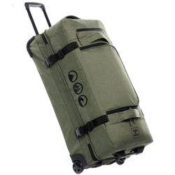 Sac de voyage avec 2 rouleaux KANE Duffel-Trolley valise trolley olive 6