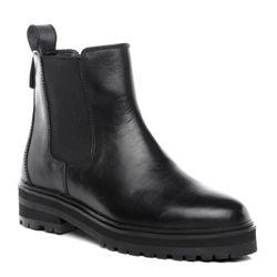 SID & VAIN Unisex Classic Chelsea Boots echt Leder Stiefelette Kurzschaft Stiefel Winter Jodhpur Boots rutschfest