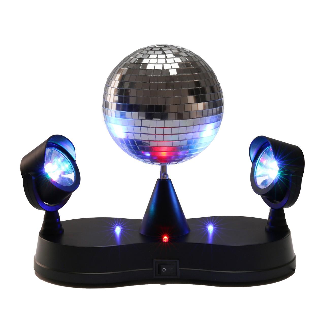 party disco doppel rgb led projector strahler 5 discokugel lichteffekt mlb13 ebay. Black Bedroom Furniture Sets. Home Design Ideas