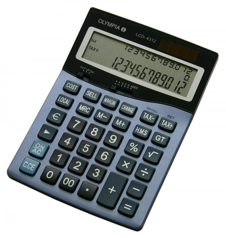 OLYMPIA LCD 4312 Tischrechner