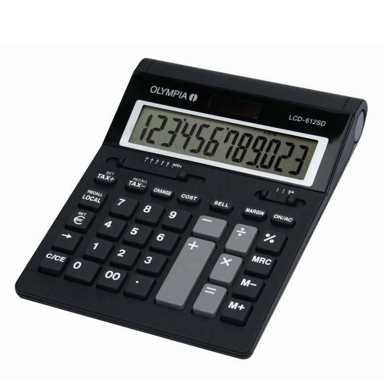 OLYMPIA LCD 612 SD Tischrechner