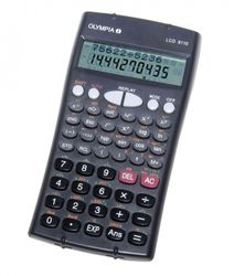 Calculatrice LCD 8110 avec fonctions technique et scientifique