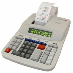 OLYMPIA Desktop Calculator, Model CPD 512