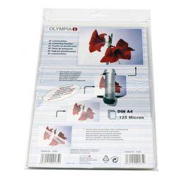 OLYMPIA Laminierfolie, DIN A4, 125 Mikron, 25 Stück