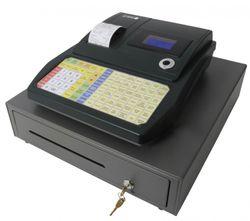 Caisse enregistreuse , clavier plat, avec Texte OLYMPIA CM 942 F