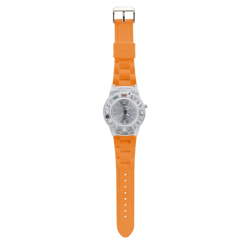 OLYMPIA Watchphone Bi Handy Armbanduhr mit Headset, Orange