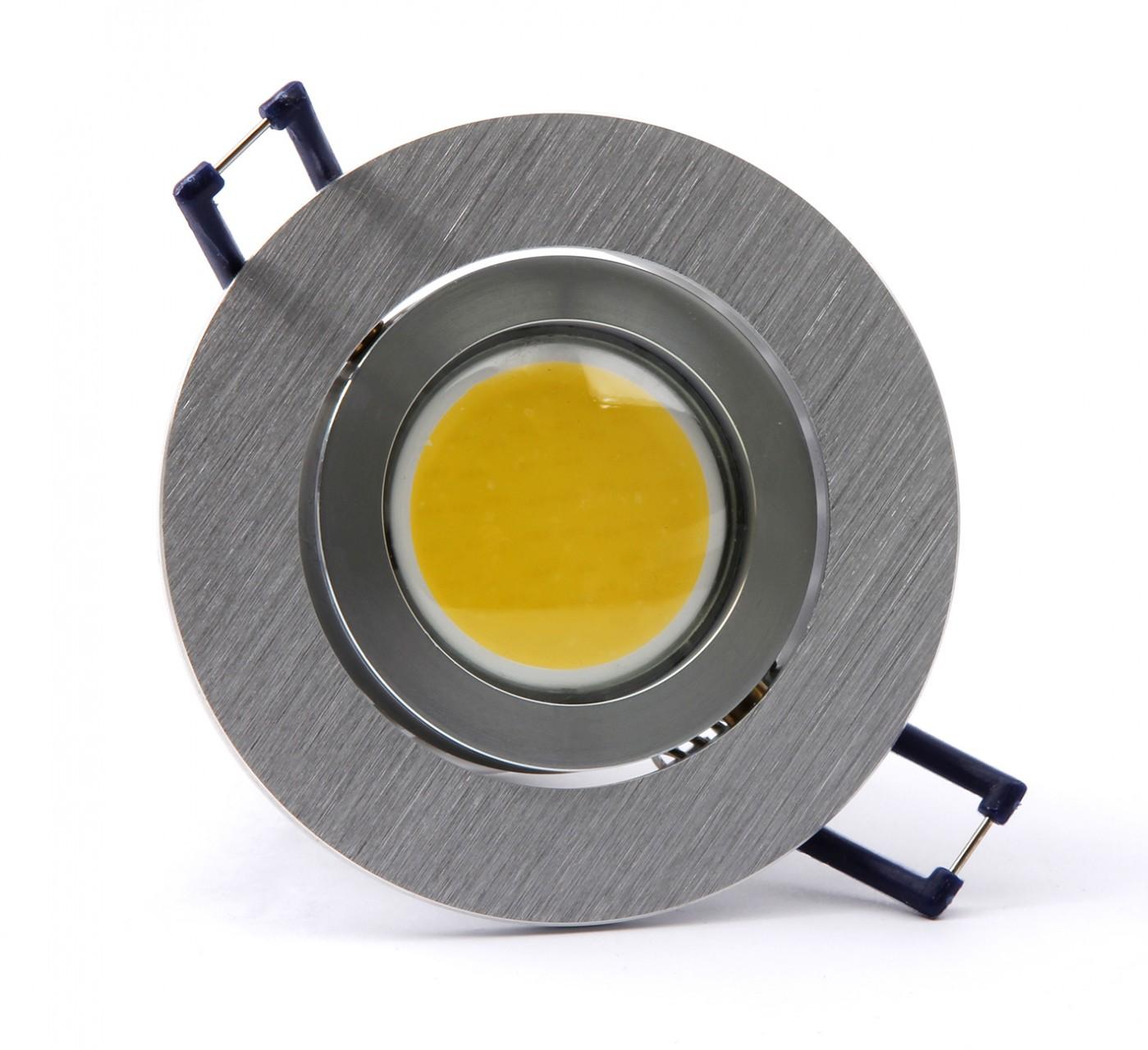 H+H COB-SMD-LED Einbauleuchte, 4 W, Warmweiß oder Naturweiß