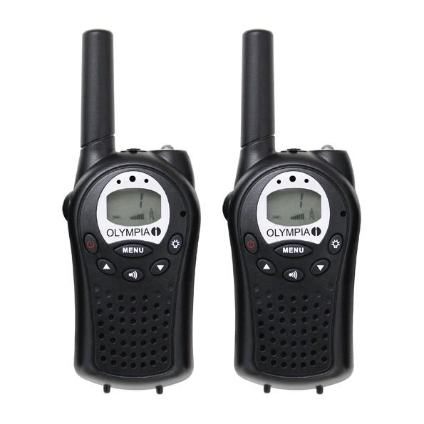 walkie talkie set olympia pmr 1120 mit 2 pmr funkger te 8. Black Bedroom Furniture Sets. Home Design Ideas