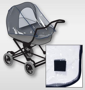 H+H BS 875 Universal Rain Cover for Baby Buggy