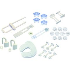 H+H BS 877 Baby Sicherheits Starter-Set, 28-tlg.