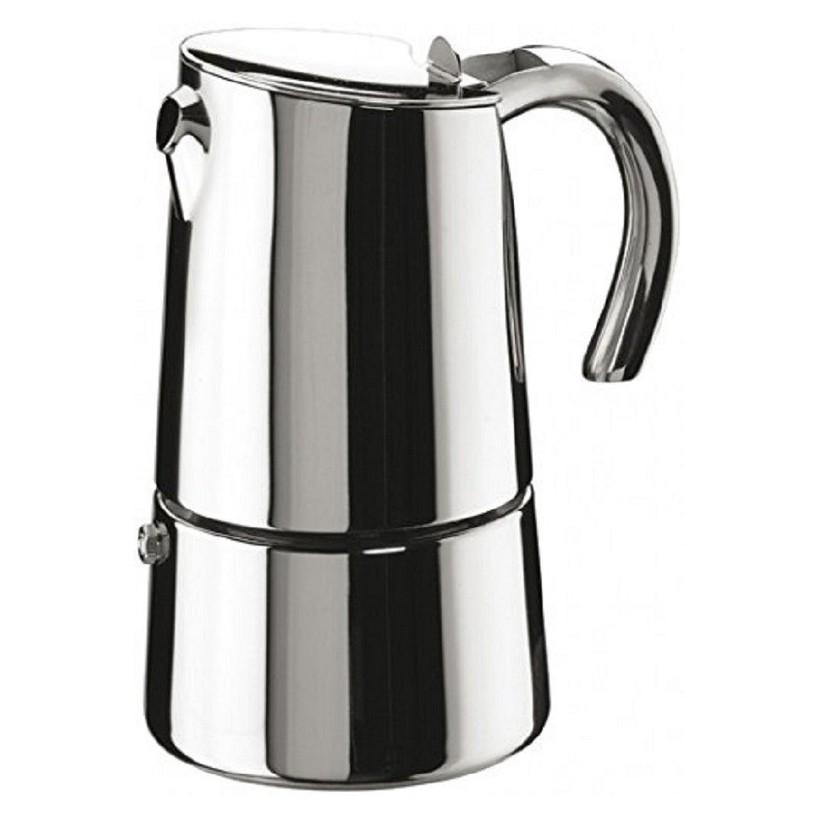 design edelstahl espressokocher bella f r bis zu 6 tassen pintinox ebay. Black Bedroom Furniture Sets. Home Design Ideas