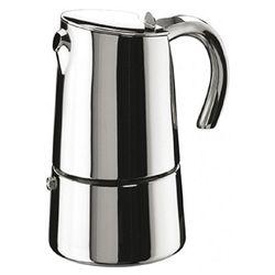 PINTINOX BELLA Edelstahl Espressokocher, für bis zu 6 Tassen