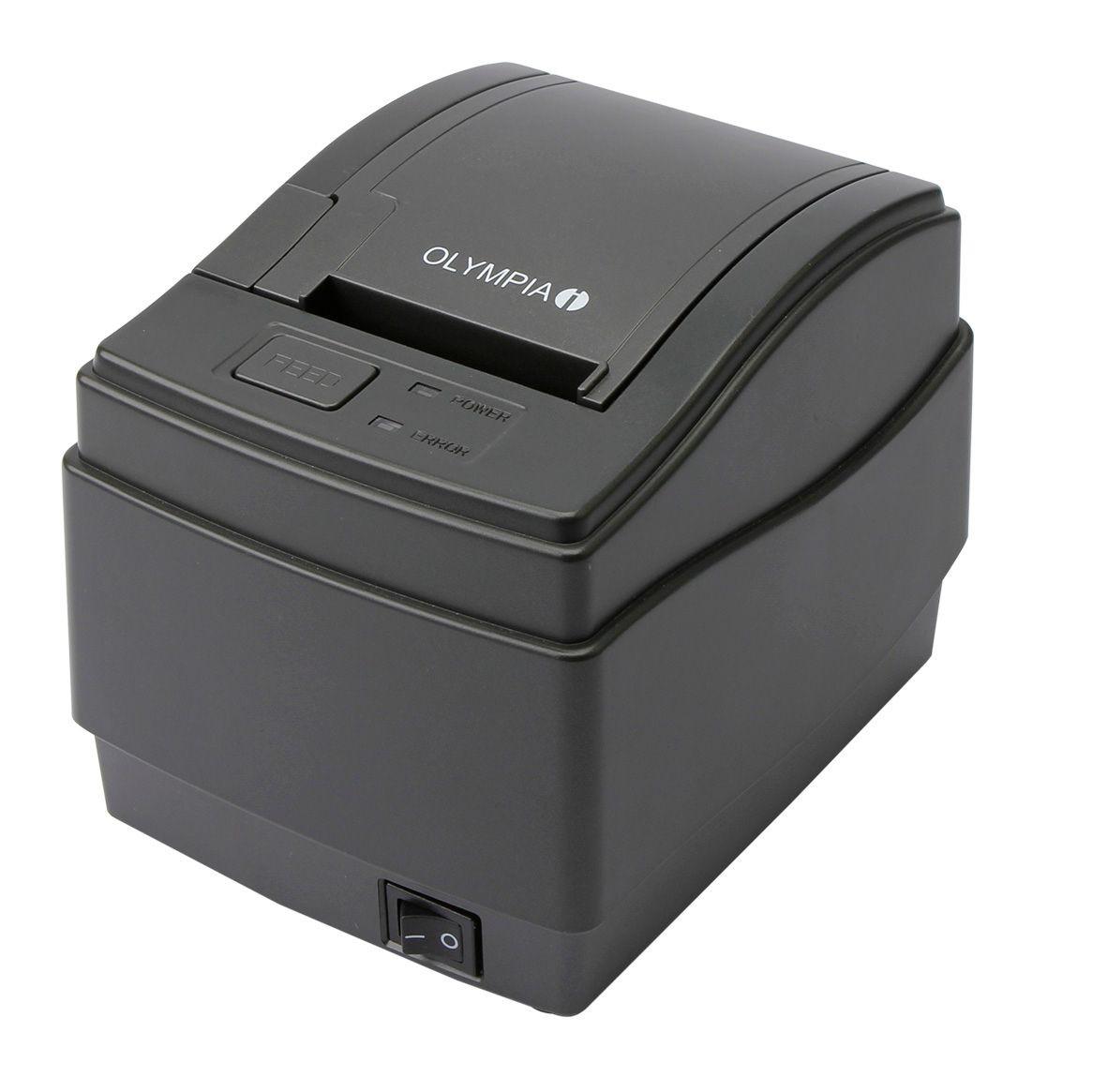 OLYMPIA KPR 58 Thermo-Küchendrucker für OLYMPIA Registrierkassen, 58 mm, Anthrazit