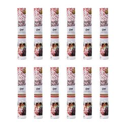 Ensemble de 12 H + H PK 31 Hearts Confetti Shooter, 30 g
