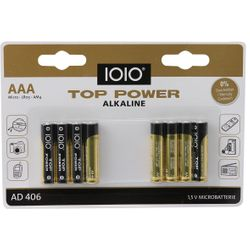 IOIO Alkaline Battery AD 406 Micro AAA