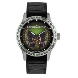 JAQUES LEMANS Damen-Armbanduhr The Expendables 2 Analog Quarz Leder E-225.1