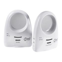 H+H MBF 1313 Digitales Babyphone mit Nachtlicht und Einschlaf-Melodien, 300 m