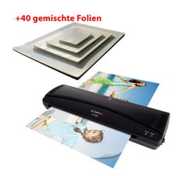 OLYMPIA A 330 Laminator DIN A3 + 40 Mixed Foils