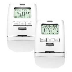 OLYMPIA Electronic radiator Thermostat HT 2000 2 Units
