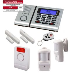 OLYMPIA Alarm System Protect Starter Set 2 x motion detector and outdoor siren
