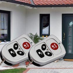 OLYMPIA Set di 2 telecomandi per la radio - i sistemi di allarme Protect  6571 60xx 90xx