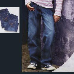 2 Stück Mädchen Jeans Hose