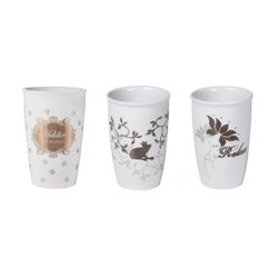 Thermo-glass and Cups made out of porcelain Brank: Perleberg