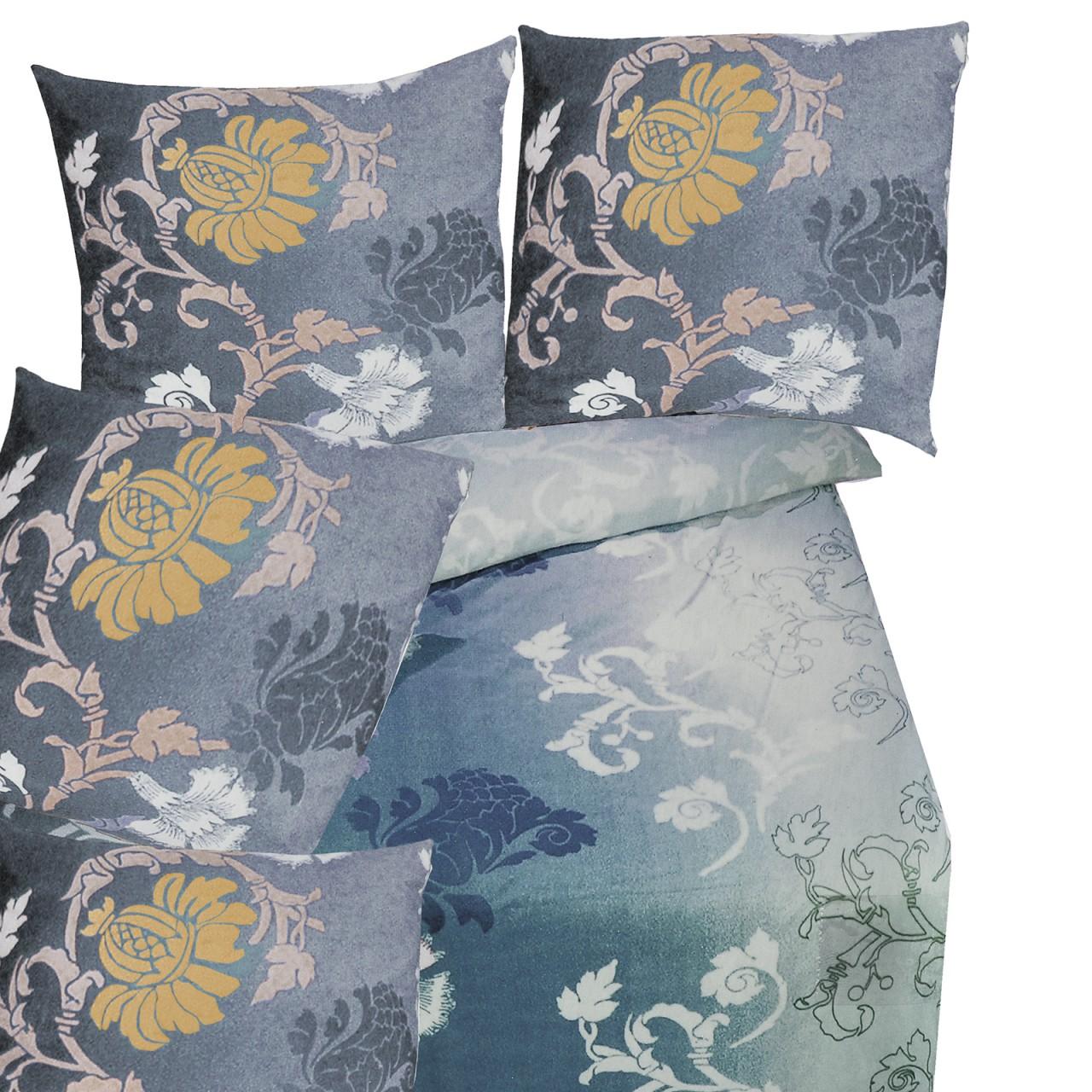 edle microfaser fleece bettw sche set 2 tlg in vielen farben und designs. Black Bedroom Furniture Sets. Home Design Ideas