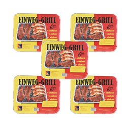 5 x Disposable Barbecue