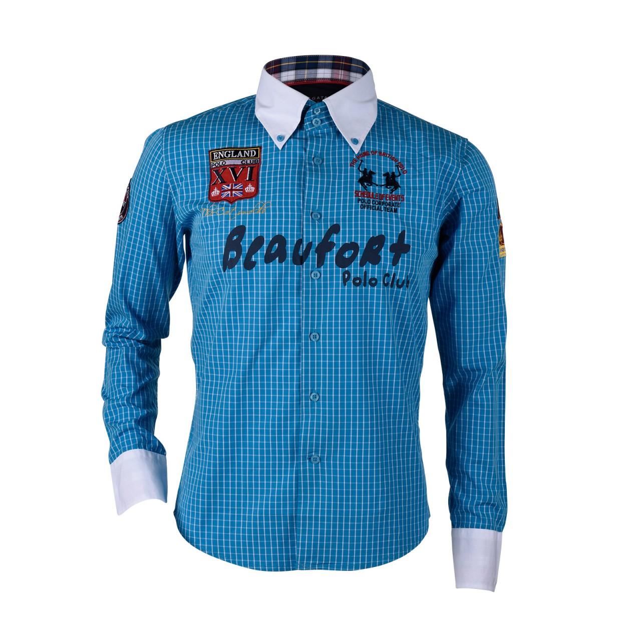 Mens button down shirt polo club for Mens button down shirts