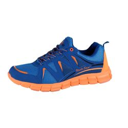 UNCLE SAM Herren Leichtlaufschuh, Blau/Orange