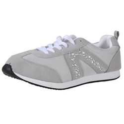 BETTY MAY Damen Fashion Sneaker, Grau