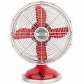 H.KOENIG JOE50 Tisch Ventilator Retro, Koralle 001