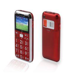 B-WARE OLYMPIA CHIC ROT Mobiltelefon mit großen Tasten und Farbdisplay