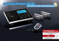B-WARE OLYMPIA Protect 9030 Drahtloses GSM Alarmanlagen-Set mit 2 Tür-/Fensterkontakten Fernbedienung