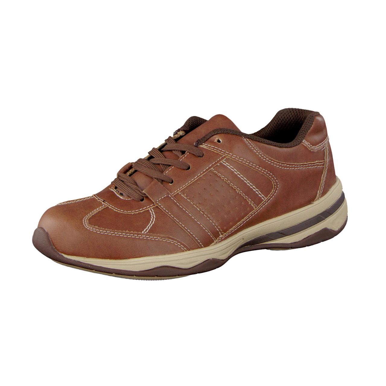 WELLNESS KOMFORT Zapatos Damen Funktions Freizeit Zapatos KOMFORT  Seaker Halbschuh hellbraun 0893c7