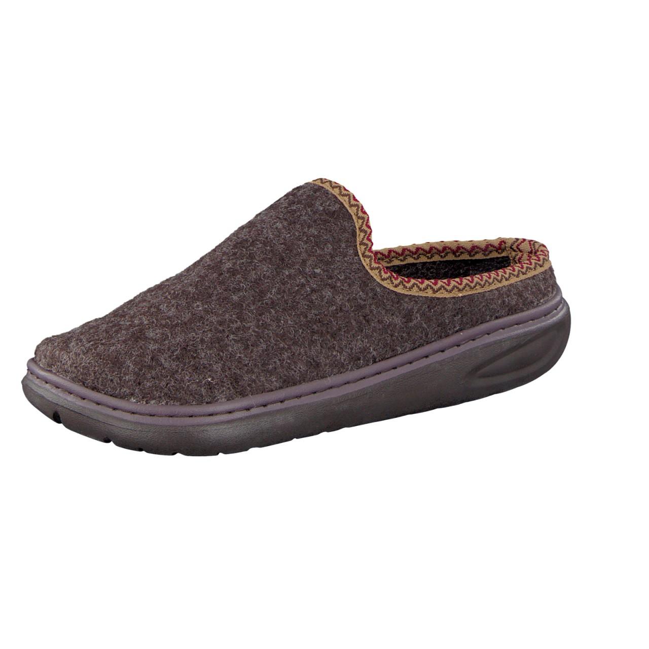 6265f87663 Wellness Comfort Femmes Super Soft Comfort pantoufles + brun