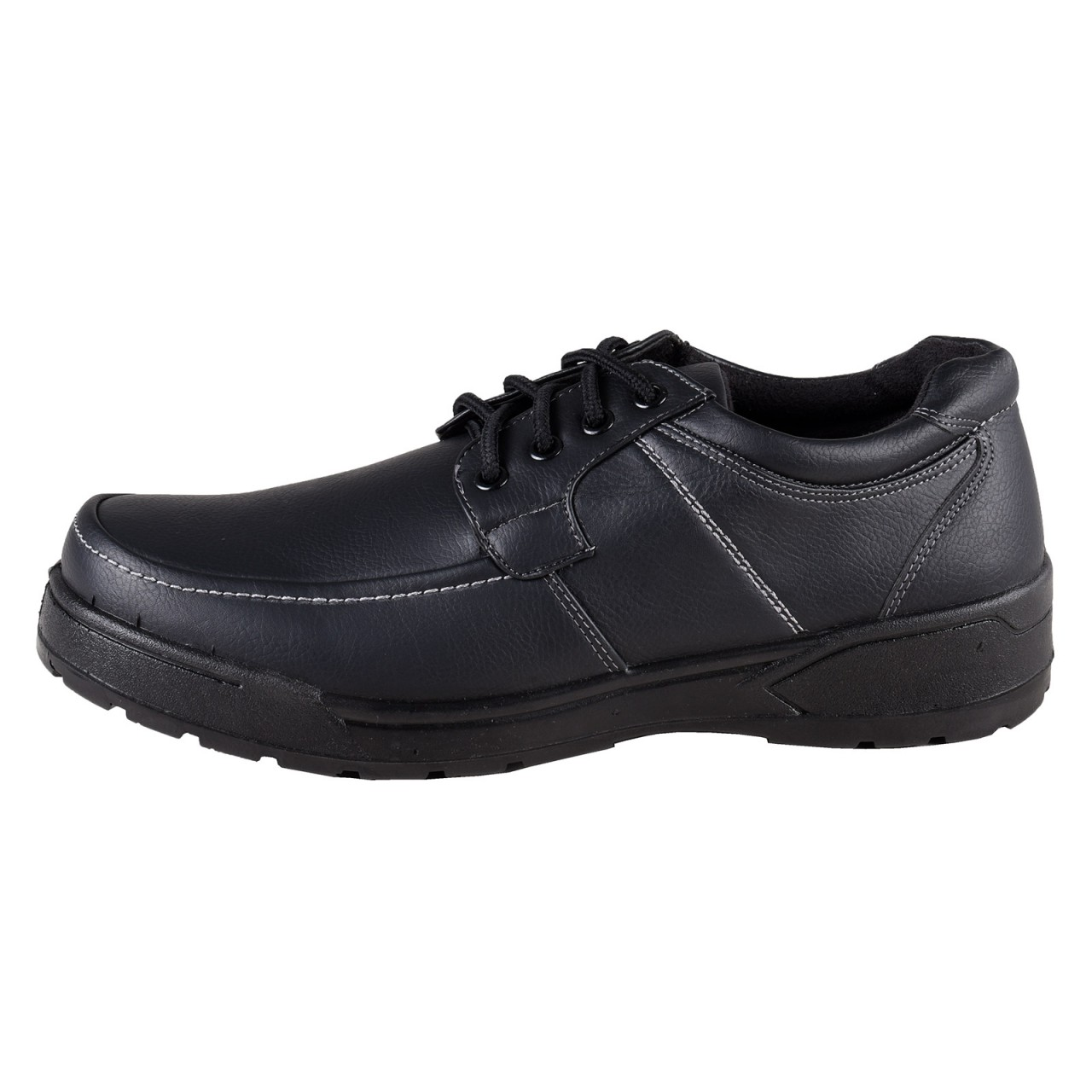 mario bucelli comfortable shoes lace up black