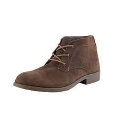 Mario Bucelli Men Real Leather Boots brown