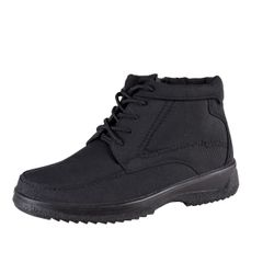 Mario Bucelli Man Thermo Boots lace-up black