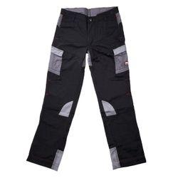 "Willax Pantalons Enfants ""Hard Work"", noir-gris"