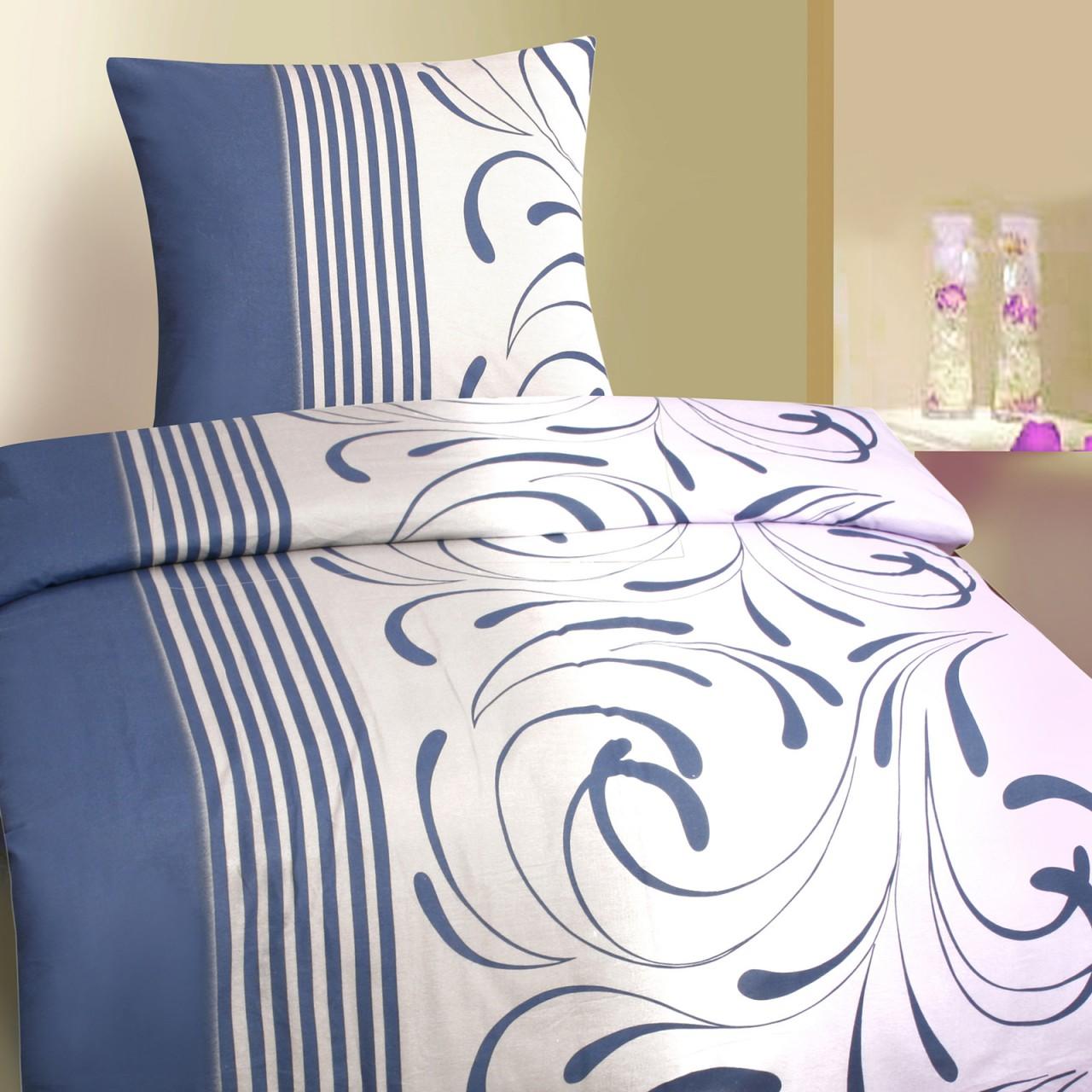premium qualit ts biber bettw sche 135x200 cm in 4 designs. Black Bedroom Furniture Sets. Home Design Ideas