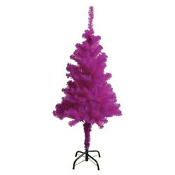 Artificial Christmas Tree with stand, purple, 180 cm