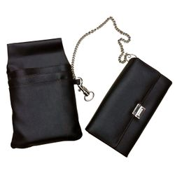 Waiter wallet with bum bag