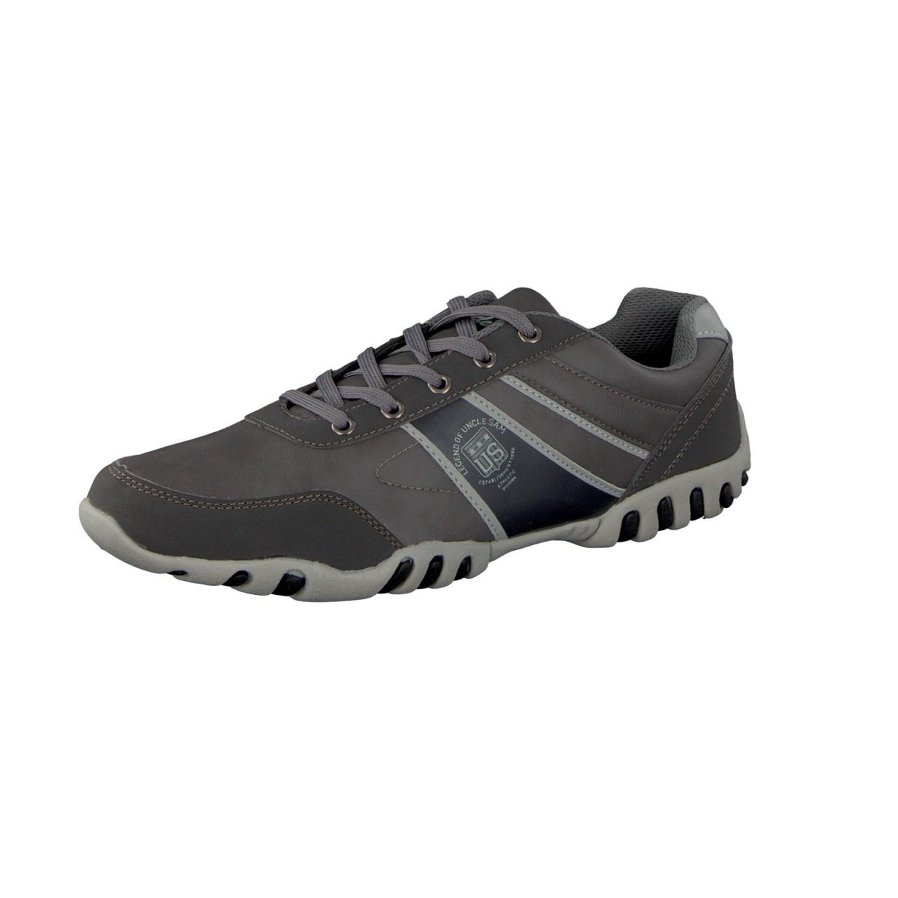 UNCLE SAM Herren Fashion Sneaker, Grau