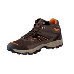 UNCLE SAM Herren Outdoor Boots, Braun/Orange