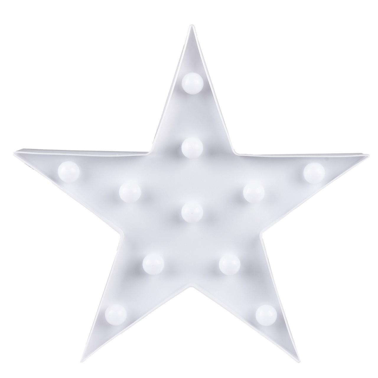 Deko Stern mit 11 LED-Leuchten zum Aufstellen