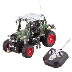 TRONICO Junior Serie R/C FENDT VARIO 313 Traktor Metallbaukasten Maßstab 1:24, 4-Kanal Funk-Fernsteuerung
