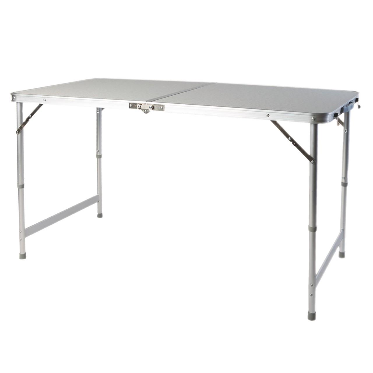 LEX Picknicktisch, 120 x 60 x 55/70 cm, höhenverstellbar ...